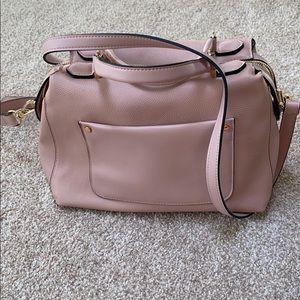 Blush Pink Crossbody/ Handle bag!